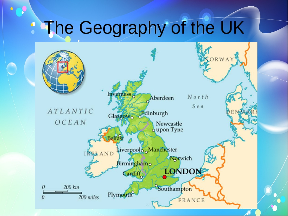The Geography of the UK