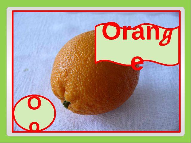 Oo Orange Oo