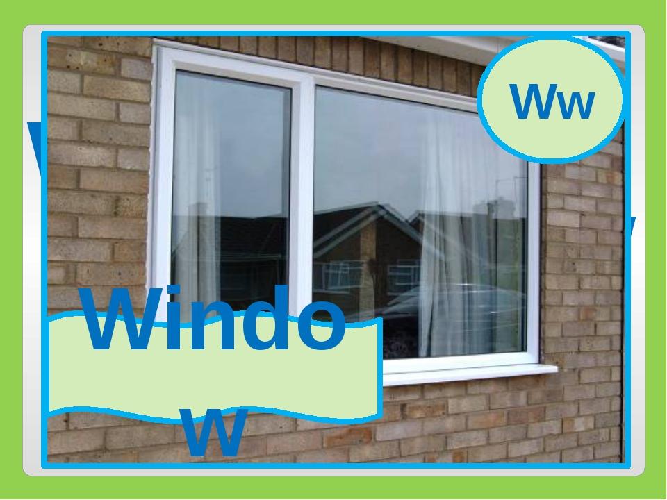 Ww Window Ww