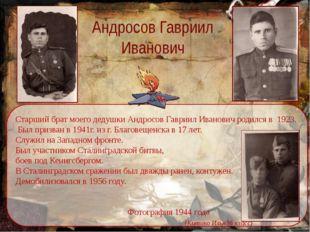 Андросов Гавриил Иванович