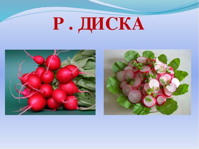 Р . ДИСКА