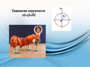 Уравнение окружности х2+у2=R2