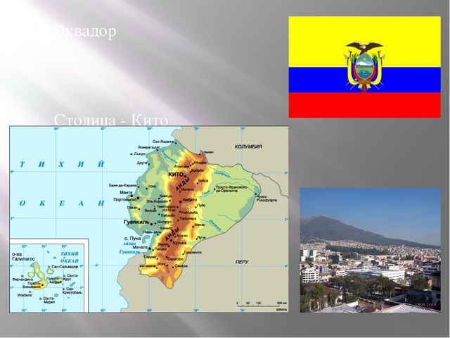 Эквадор Столица - Кито