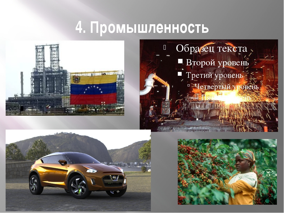 4. Промышленность