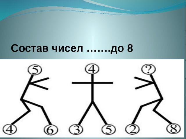 Состав чисел …….до 8