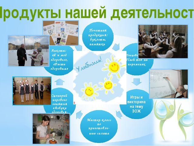 Продукты нашей деятельности