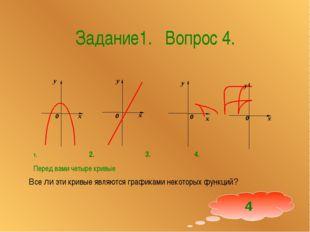 Задание1. Вопрос 4. Все ли эти кривые являются графиками некоторых функций? 2