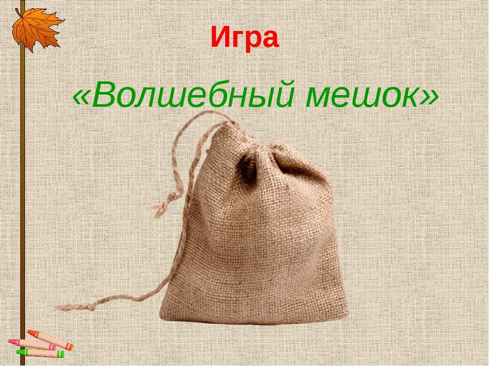Игра «Волшебный мешок»