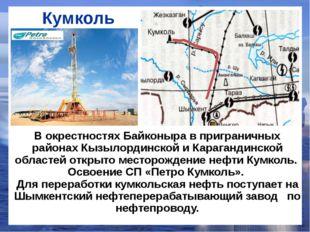 Кумколь В окрестностях Байконыра в приграничных районах Кызылординской и Кара
