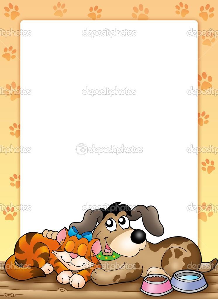 http://static4.depositphotos.com/1005091/294/i/950/depositphotos_2940467-Frame-with-cute-cat-and-dog.jpg
