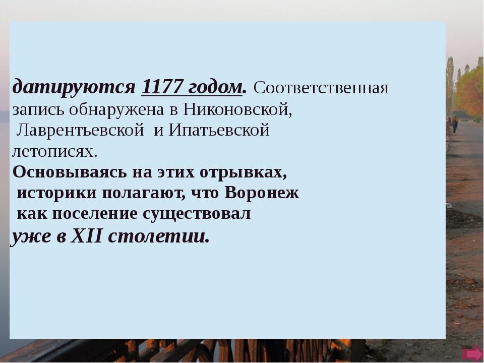 Улица Большая Дворянская, Воронеж. 19 век. Сейчас проспект Революции