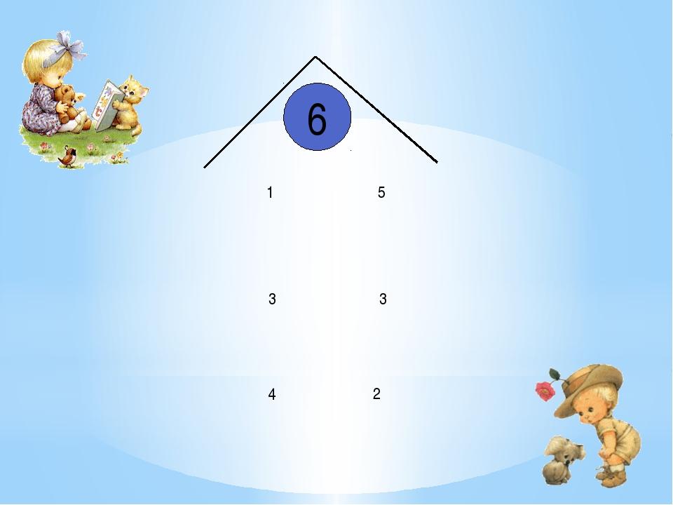 6 1 3 4 5 3 2