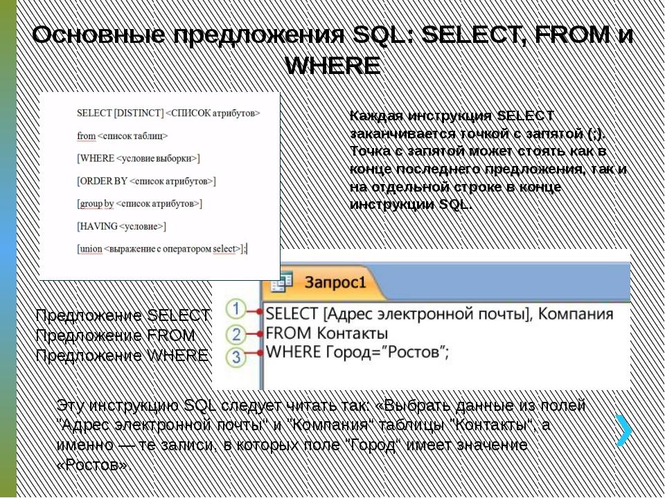 ПРАКТИЧЕСКОЕ ЗАДАНИЕ Создать SQL запросы На выборку всех полей из таблицы Вр...