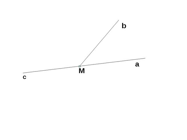 b a c M