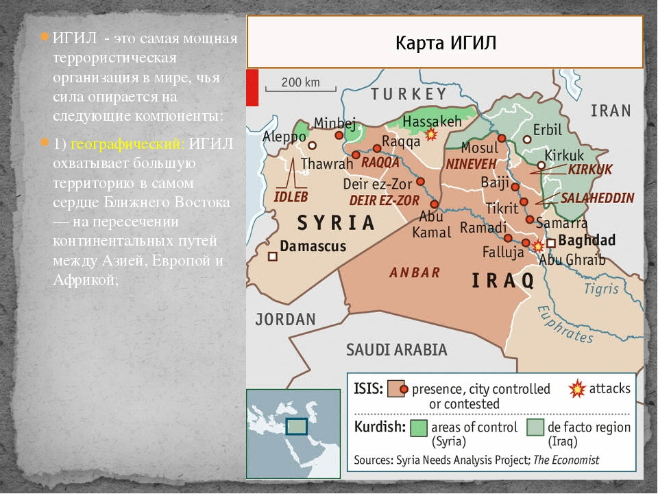 ИГИЛ - это самая мощная террористическая организация в мире, чья сила опирает...