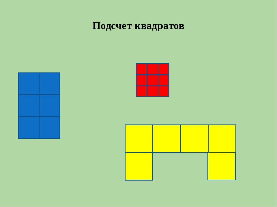 Подсчет квадратов