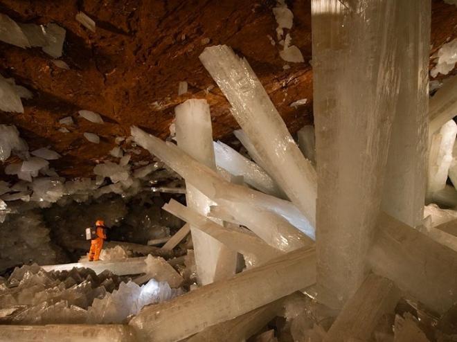 Волшебная Пещера Гигантских Кристаллов в Мексике