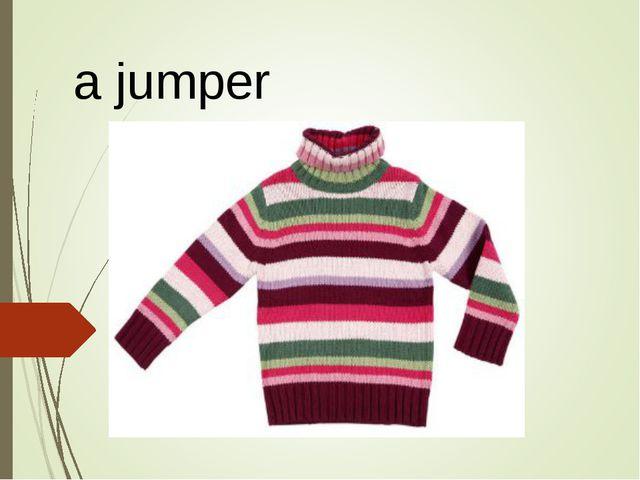 a jumper