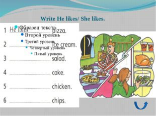 Homework: Activity book ex. 2 p.34 Write I like/I don't like Draw your feelin