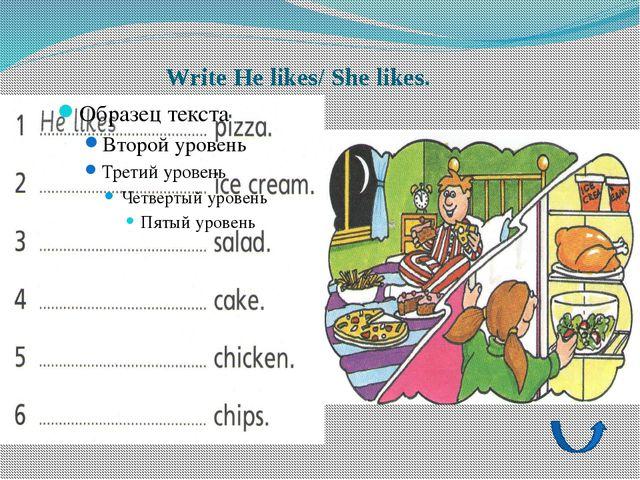 Homework: Activity book ex. 2 p.34 Write I like/I don't like Draw your feelin...