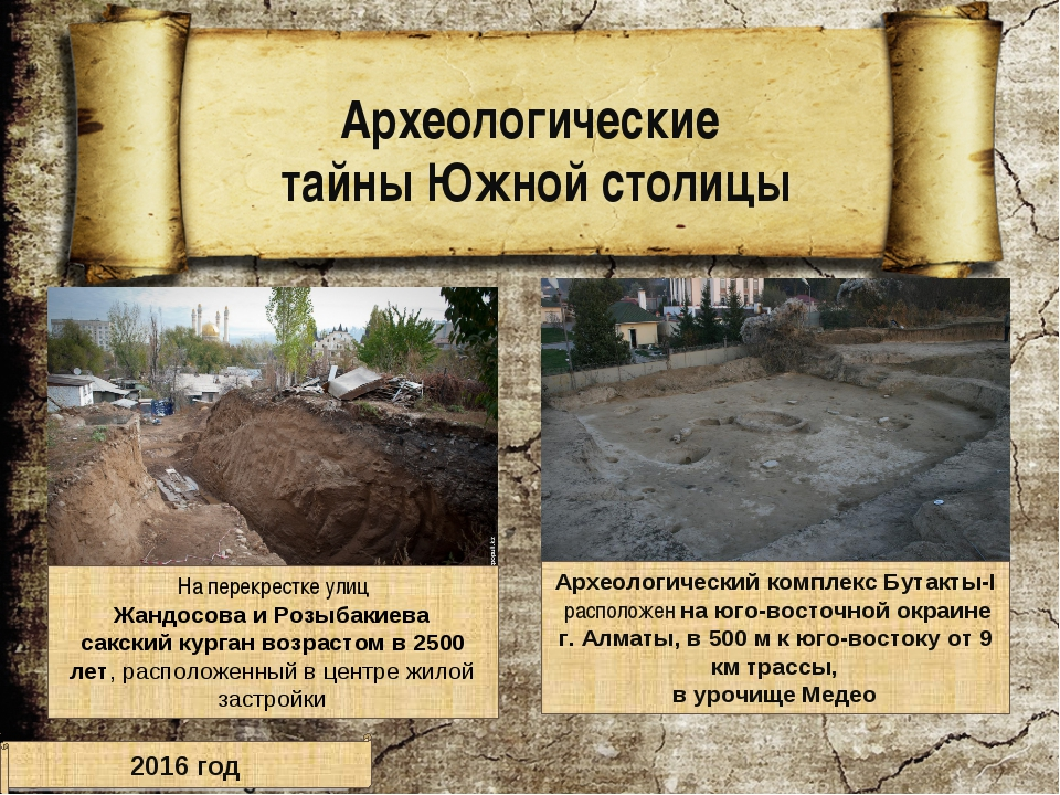 Археологический комплекс Бутакты-I расположен на юго-восточной окраине г. Алм...
