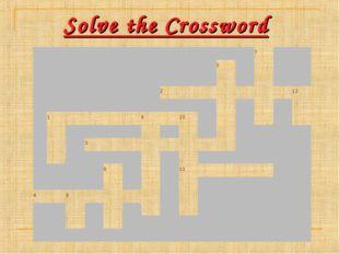 Solve the Crossword 7 5