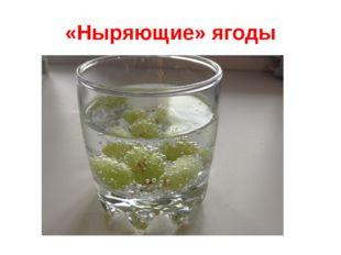 «Ныряющие» ягоды