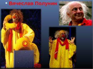 Вячеслав Полунин . Шишлянникова Е.В. гимназия №8 г.Дубна Московская обл.