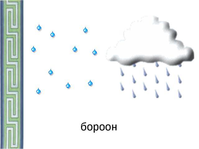 бороон