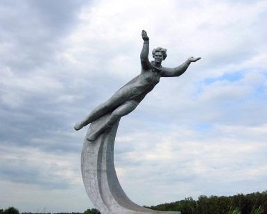 Памятник Валентине Терешковой