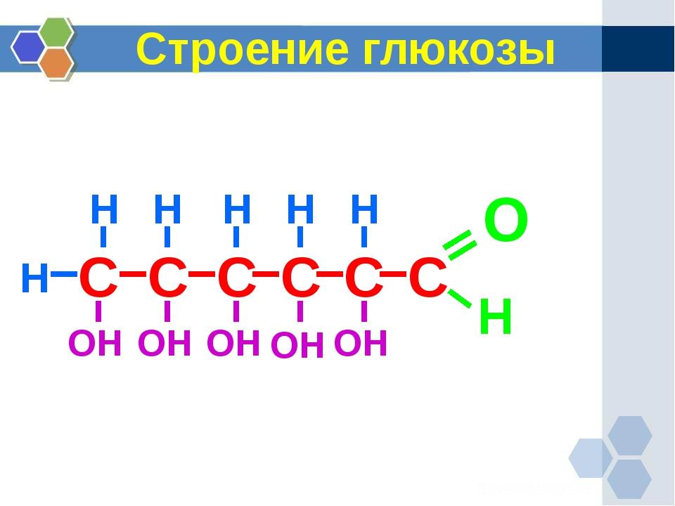 Строение глюкозы