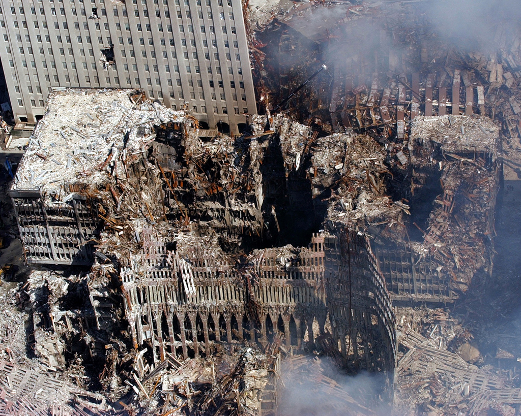 Twin Towers Attack Photos