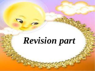 Revision part