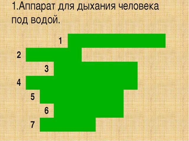 2.Приспособления для измерения длины. 1 А к в а л а н г 2 3 4 5 6 7