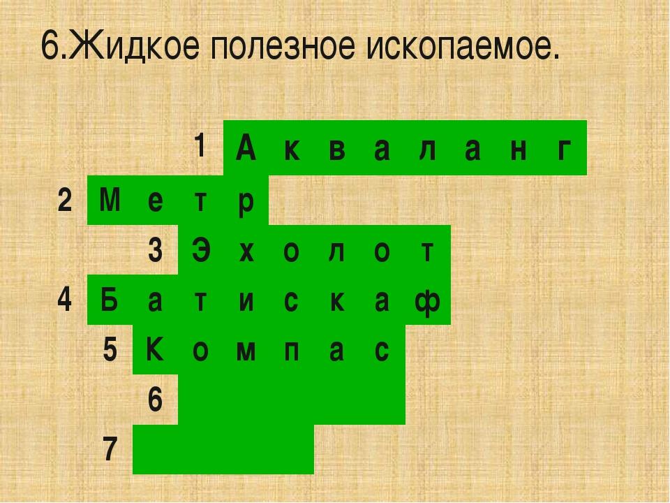 7.Металл красного цвета. 1 А к в а л а н г 2 М е т р 3 Э х о л о т 4 Б а т и...