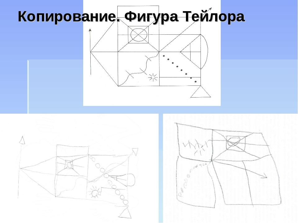 Копирование. Фигура Тейлора
