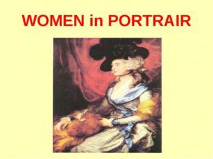 WOMEN in PORTRAIR