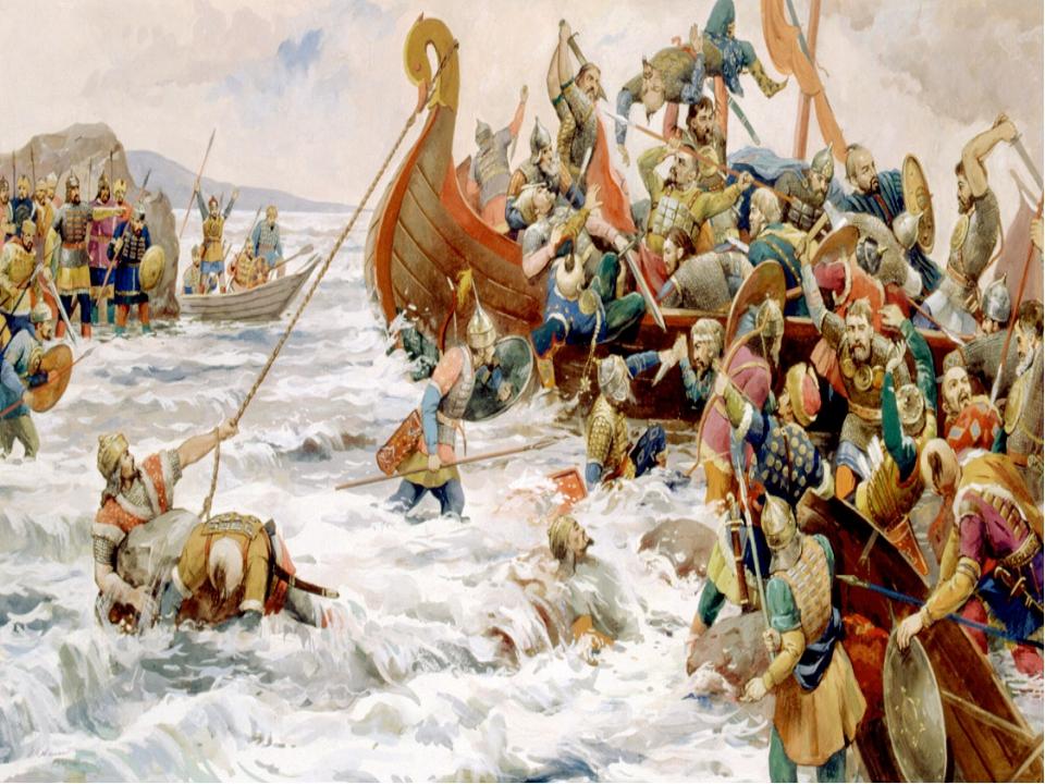 Святослав 957-972 (962-964) Этап 957-966 Восточный поход: ослабление Волжской...