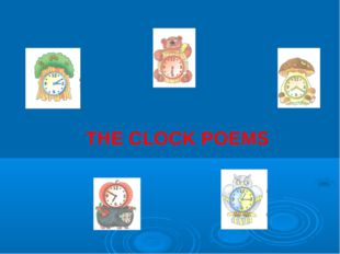 THE CLOCK POEMS