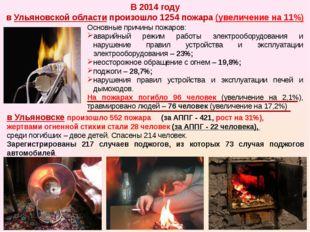 Основные причины пожаров: аварийный режим работы электрооборудования и наруш