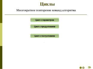 Цикл с параметром Задание 3 Вычислить сумму четных чисел из интервала [-5, 1