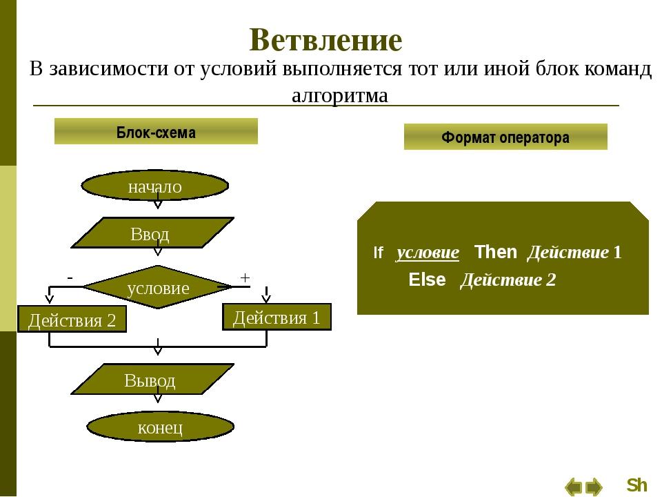 Ветвление Задание 2 Вычислить значение функции: Выполнить проверку подкоренно...