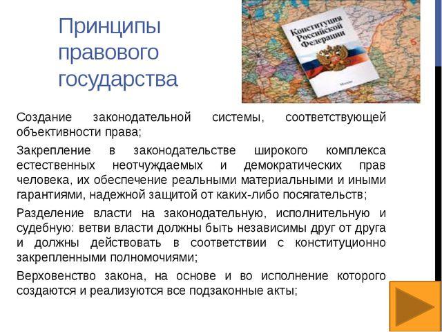 Взаимодействие гражданского общества и правового государства В развитых стран...