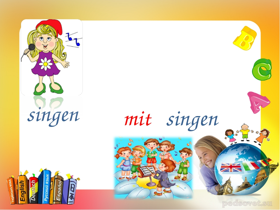 singen singen mit