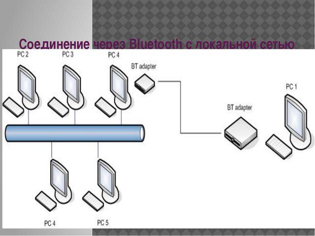 Соединение через Bluetooth с локальной сетью