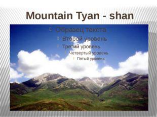 Mountain Tyan - shan