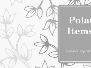 Polar Items Irina Rusina, Noyabrsk, YaNAO