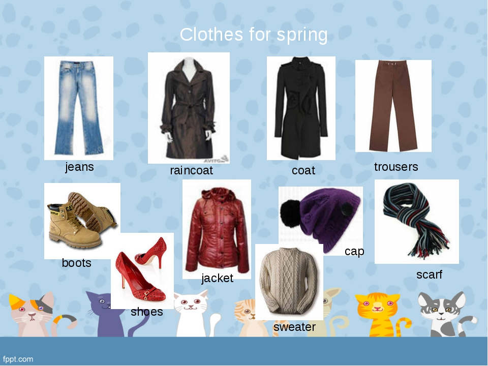 jeans raincoat coat trousers boots cap scarf jacket shoes sweater Clothes fo...