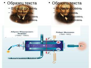 Электронның электр заряды элементар заряд деп аталады. Электрон заряды теріс