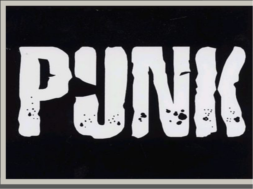 И невозможно не вспомнить панк-культуру. Слово «punk» в английском языке мно...